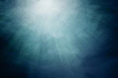 światła pod wodą Obrazy Stock