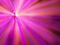 światła różowią sferę Zdjęcia Stock