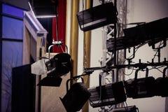 Światła reflektorów Zdjęcie Royalty Free