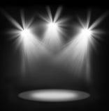 Światła reflektorów Obraz Royalty Free