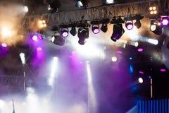 Światła reflektorów Fotografia Royalty Free