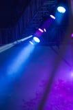 Światła reflektorów Fotografia Stock