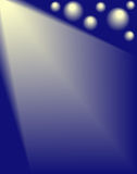 Światła reflektorów Obrazy Royalty Free
