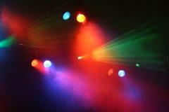 Światła reflektorów przedstawienie obraz royalty free