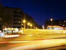 światła ruch drogowy Fotografia Royalty Free