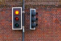 światła ruch drogowy Zdjęcie Stock