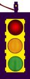 światła ruch drogowy Zdjęcia Stock