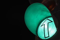 Światła ruchu †'zieleń zdjęcia stock