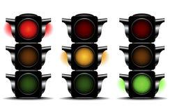 Światła ruchu Zdjęcie Stock