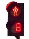 Światła ruchu dla pedestrians Zdjęcie Stock
