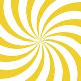 Światła słonecznego kłębowiska tło Żółty i biały koloru wybuchu tło również zwrócić corel ilustracji wektora ilustracji
