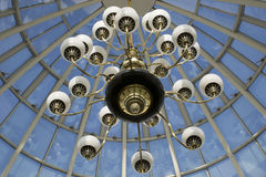 Światła w niebie Fotografia Royalty Free