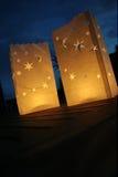 Światła w zmroku Obraz Royalty Free