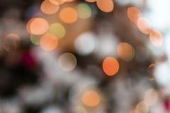 Światła Wielo- Barwiony Abstrakcjonistyczny Bokeh fotografia stock