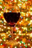 światła wino Zdjęcia Royalty Free