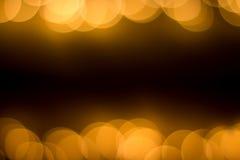 Światła złoci światła Obraz Stock