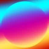 Światło form kolorowy fractal ilustracji