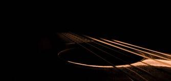Światło gitara Obraz Stock