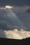 Światło i chmury Zdjęcie Royalty Free