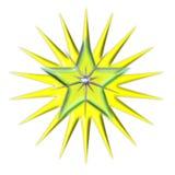 światło jaskrawy gwiazda Zdjęcia Royalty Free