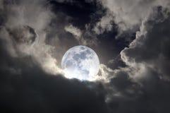 światło księżyca Obrazy Royalty Free
