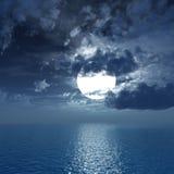 światło księżyca Zdjęcia Stock