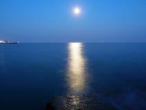 światło księżyca Fotografia Stock