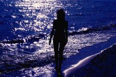 światło księżyca kąpielowy. Zdjęcie Royalty Free