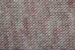 Światło - menchii i szarość bawełna wyplata obraz stock