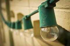 Światło na ścianie Zdjęcia Stock