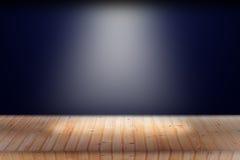 Światło na drewnianym Fotografia Stock
