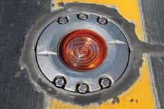 Światło na taxiway Zdjęcia Stock