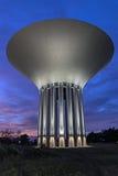 Światło na watertower Obrazy Royalty Free