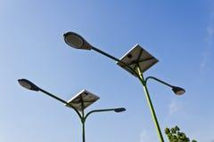 Światło ogniwo słoneczne Obrazy Stock