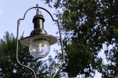 ' Światło palące żarówki Fotografia Royalty Free