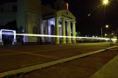 Światło przed blenduk kościół zdjęcia stock