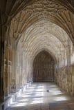 Światło przez cloisters Obraz Royalty Free