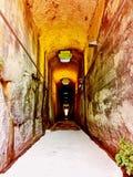 Światło przy końcówką tunel Obrazy Stock