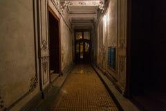 Światło przy końcówka tunel obraz royalty free