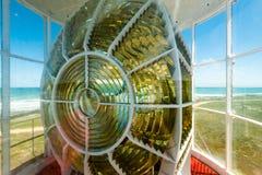 Światło przylądka Agulhas latarnia morska w Południowa Afryka Obraz Stock
