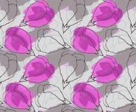 Światło - purpura kwiatu krupony ilustracji