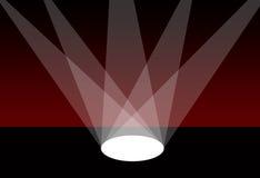światło reflektorów royalty ilustracja