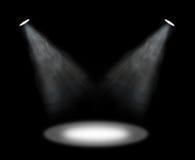światło reflektorów Zdjęcie Stock