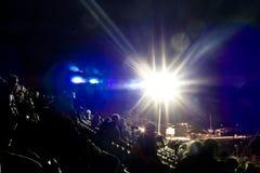 światło reflektorów obrazy stock