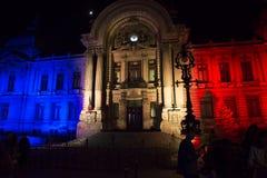 Światło reflektorów Międzynarodowy festiwal Bucharest 2015 Obraz Royalty Free