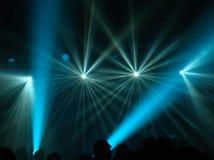 Światło reflektorów raca Fotografia Stock