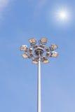 Światło reflektorów słup Obraz Royalty Free
