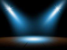 Światło reflektorów, tło Obraz Stock