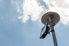 Światło reflektorów w popołudniu Obraz Stock