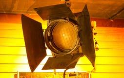 Światło reflektorów w studiu Zdjęcia Royalty Free